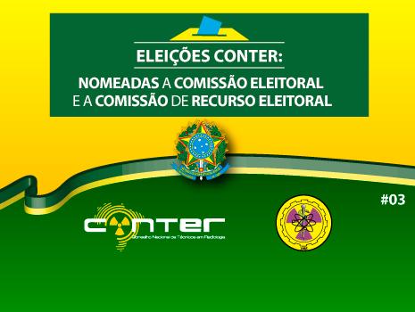 Capa da Notícia: #03 ELEIÇÕES CONTER 2017