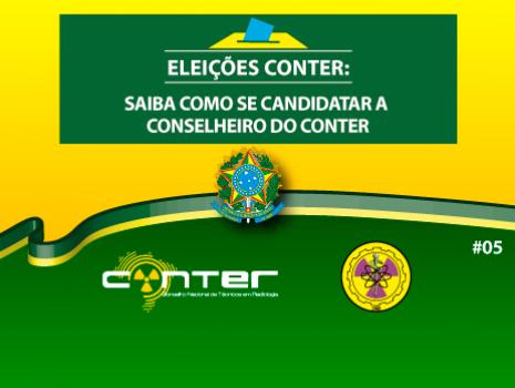 Capa da Notícia: #05 ELEIÇÕES CONTER 2017